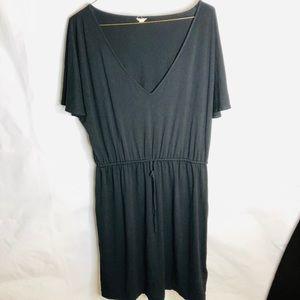J Crew Black Dress Loose Fit Size Small